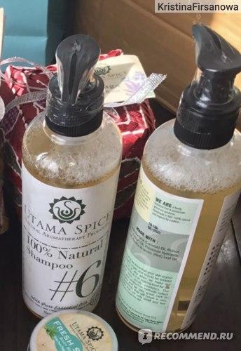 Шампунь Utama Spice 100% Natural Shampoo фото