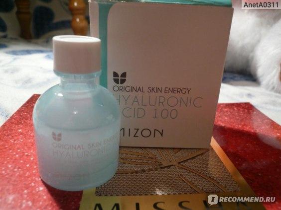 Сыворотка гиалуроновой кислоты Mizon Hyaluronic acid 100  фото