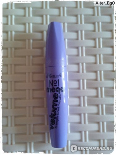 Тушь для ресниц Ninelle №1 Mega volume &length&curl mascara фото