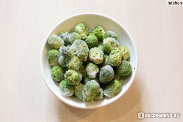 Овощи замороженные Vитамин Брюссельская капуста фото