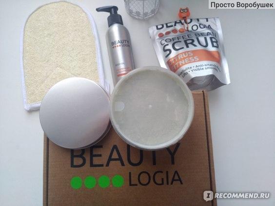 Маска для обертывания Beautylogia Laminariya slim body mask