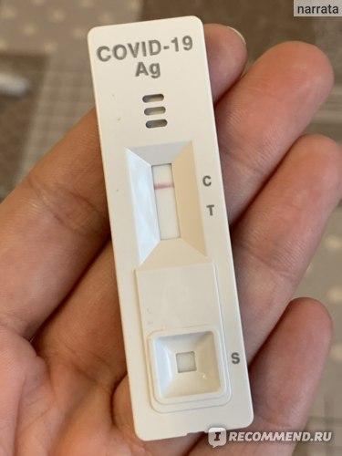 Экспресс-тест на определение COVID-19 Biocredit COVID-19 Ag фото