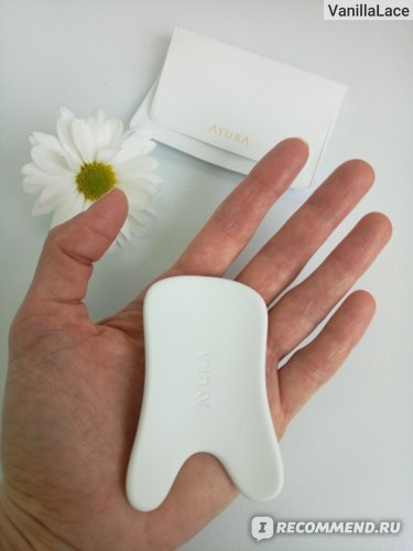 Керамическая плитка для ручного массажа лица AYURA Bicassa Plate Premium фото