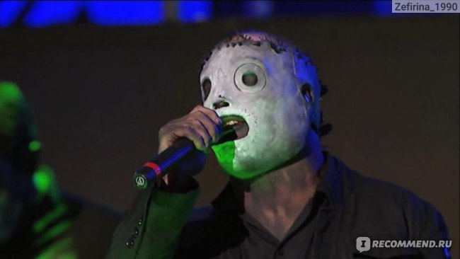 скриншот концерта группы Slipknot