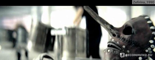 скриншот клипа группы Slipknot