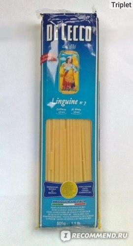 Макаронные изделия  De Cecco Linguine № 7 фото