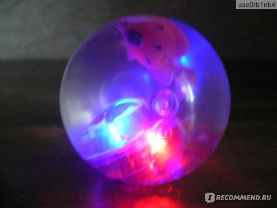Fix Price Мячик со световым эффектом фото