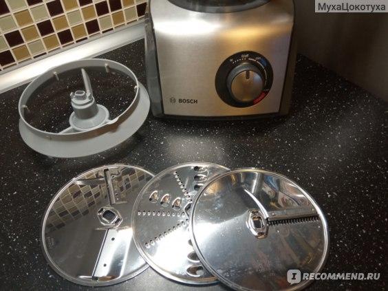 Кольцо-держатель для дисков и диски-измельчители.