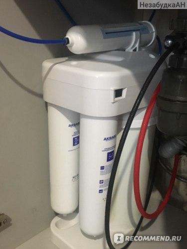 Фильтр для воды с обратным осмосом АКВАФОР DWM-70 фото