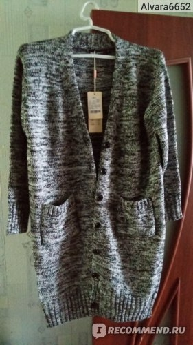 Кардиган AliExpress Big size cardigan 2016 Spring Autumn gray casual knit long sweater coat plus size women clothing фото