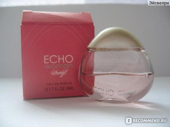 Davidoff Echo мой первый сладкий аромат отзывы покупателей