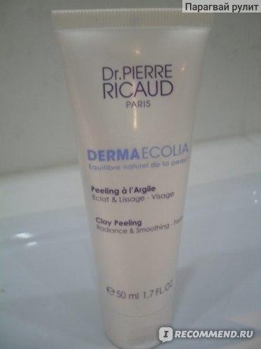 Пилинг для лица Dr.Pierre Ricaud Derma Ecolia на основе белой глины фото
