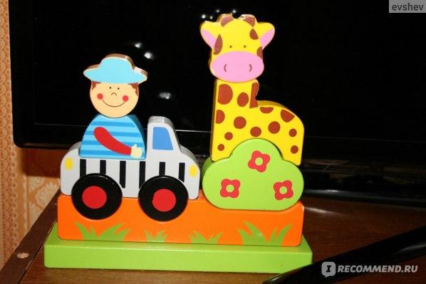"""Toys Lab Магнитный конструктор """"Зоопарк"""" фото"""
