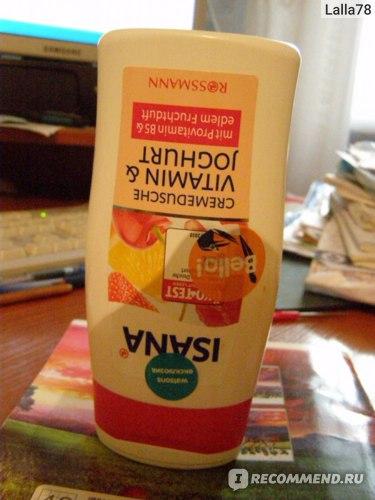 Гель Йогурт и витамины Isana