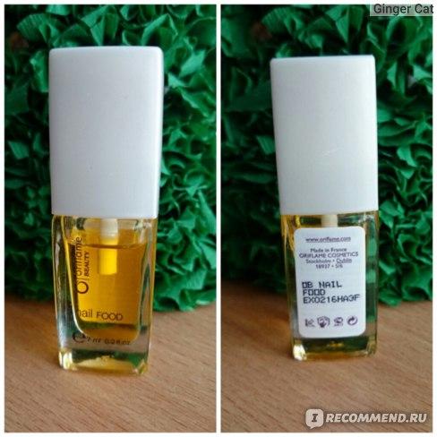 Масло для ногтей Oriflame Питательное уход «Блестящий атлас» фото