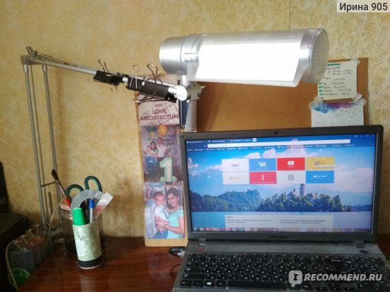 Настольная лампа Accento Lighting ALT-T-T-HD2001B фото