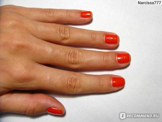 Профессиональный лак для ногтей Golden Rose Care+Strong фото