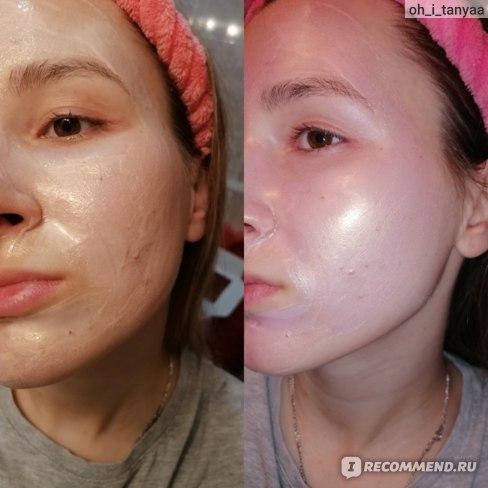 Мокрая / высохла маски sammy beauty