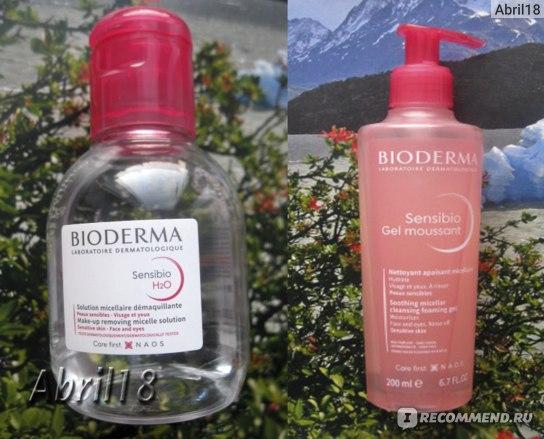 Гель-пенка для умывания Bioderma Sensibio Mild Cleansing Foaming Gel фото