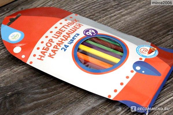 Набор цветных карандашей, Kid's Fantasy, 24 шт фото