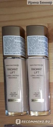 Тональная основа Max Factor Radiant Lift фото