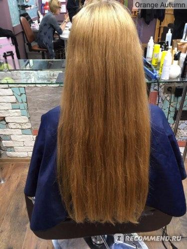 Подравнивание кончиков волос в салоне фото