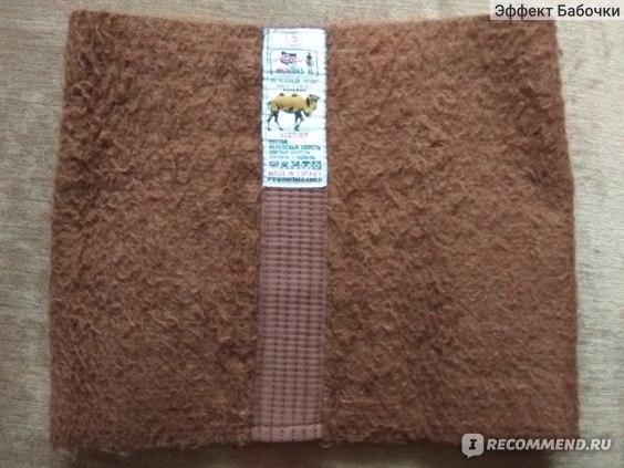 Лечебный пояс Morteks  из верблюжьей шерсти фото