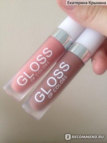Матовая помада для губ Aliexpress Gloss of colors фото