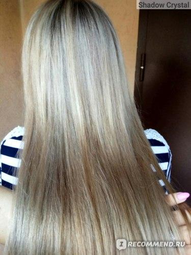 Airtouch на длинных волосах