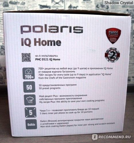 Мультиварка Polaris PMC 0521 IQ Home