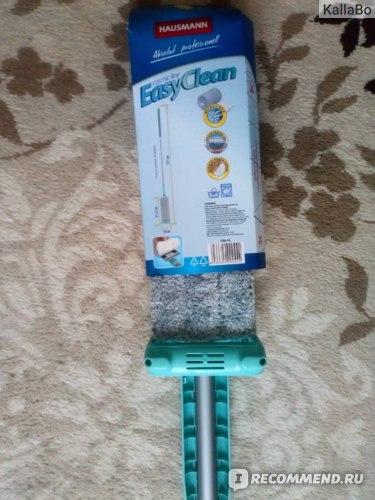 Швабра с отжимом Hausmann Easy Clean фото
