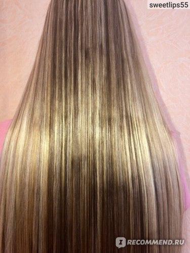Масло-эликсир Золотой шелк Мультифункциональное восстановление и питание волос заполнение маслом арганы и макадамии фото