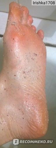 Скраб для ног Savonry От натоптышей  фото