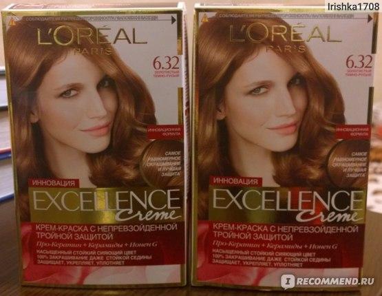 Краска для волос L'Oreal Paris EXCELLENCE Creme Стойкая фото