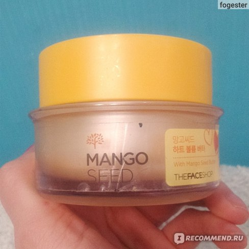 Крем для лица The Face Shop Mango Seed Heart Volume Butter фото