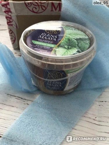 Сахарная паста для шугаринга ELENA MAAYA с отваром мяты фото