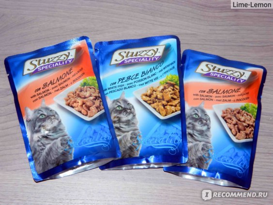 Stuzzy Speciality консервы для кошек (с лососем) фото