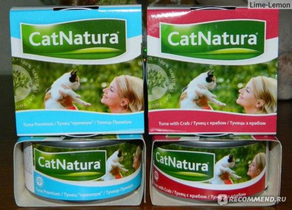 Консервы Cat Natura фото