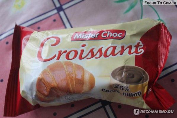 Круассан Mister Choc Cocoa filling 26% фото