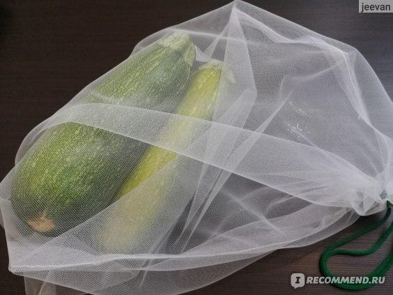 Набор мешочков Лента Для овощей и фруктов