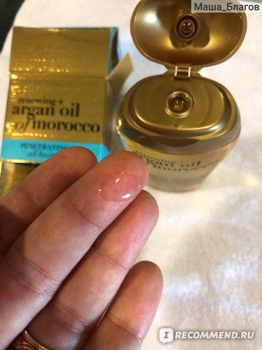 Масло для волос OGX Argan oil of Morocco фото