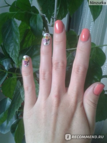 Переводные наклейки для дизайна ногтей Irisk фото