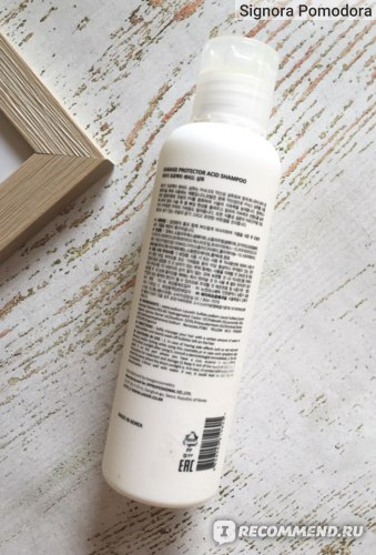 Шампунь La'dor Damage Protector Acid Shampoo фото