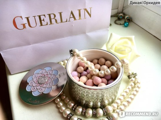 Пудра в шариках Guerlain Meteorites Pearls / Метеориты фото