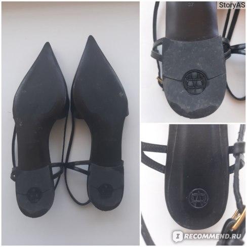 Туфли Massimo Dutti без задника с ремешком арт. 1508/550/800
