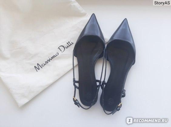 Обувь Massimo Dutti отзывы
