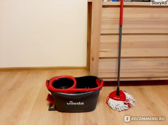 Набор для уборки Vileda Turbo отзывы