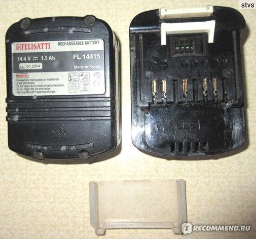 Аккумуляторы перезаряжаемые  Felisatti FL 14415, 14,4 В, 1,5 А*ч  фото
