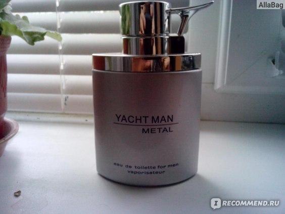 YACHT MAN  Туалетная вода METAL фото