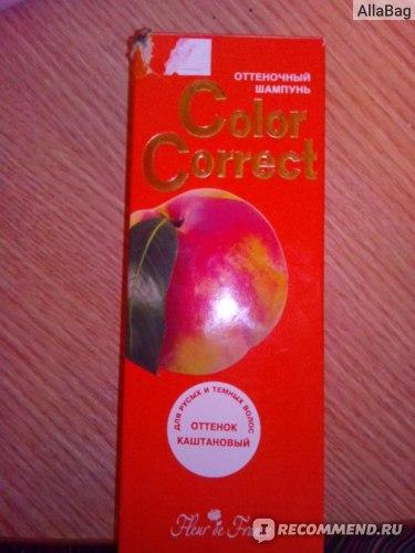 Оттеночный шампунь Color Correct  фото